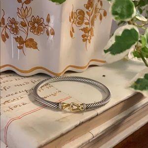 DAVID YURMAN Buckle Cable Bracelet